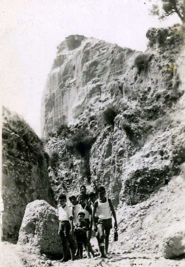 La gola d'ingresso ai Canyons
